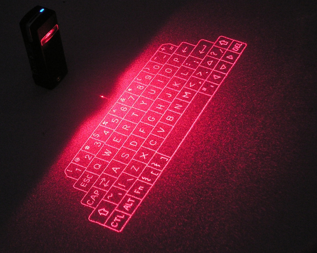 InfraRed Virtual Projection Keyboard