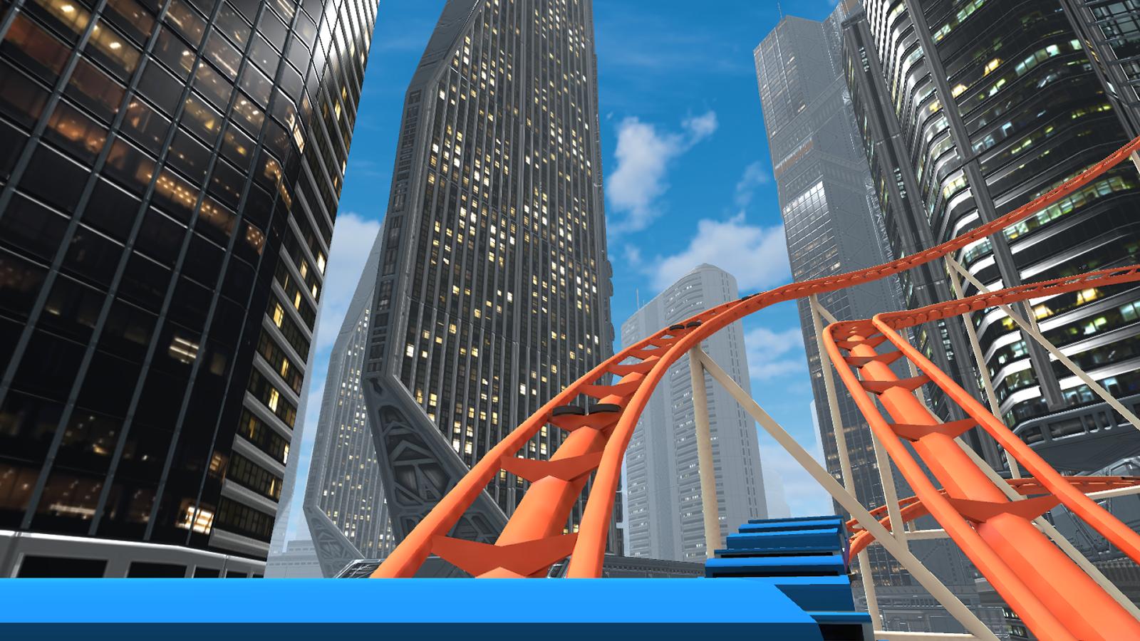 VR - Rollercoaster
