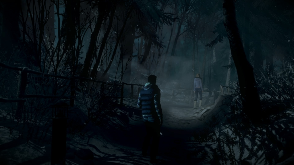 Until Dawn (PS4) scary