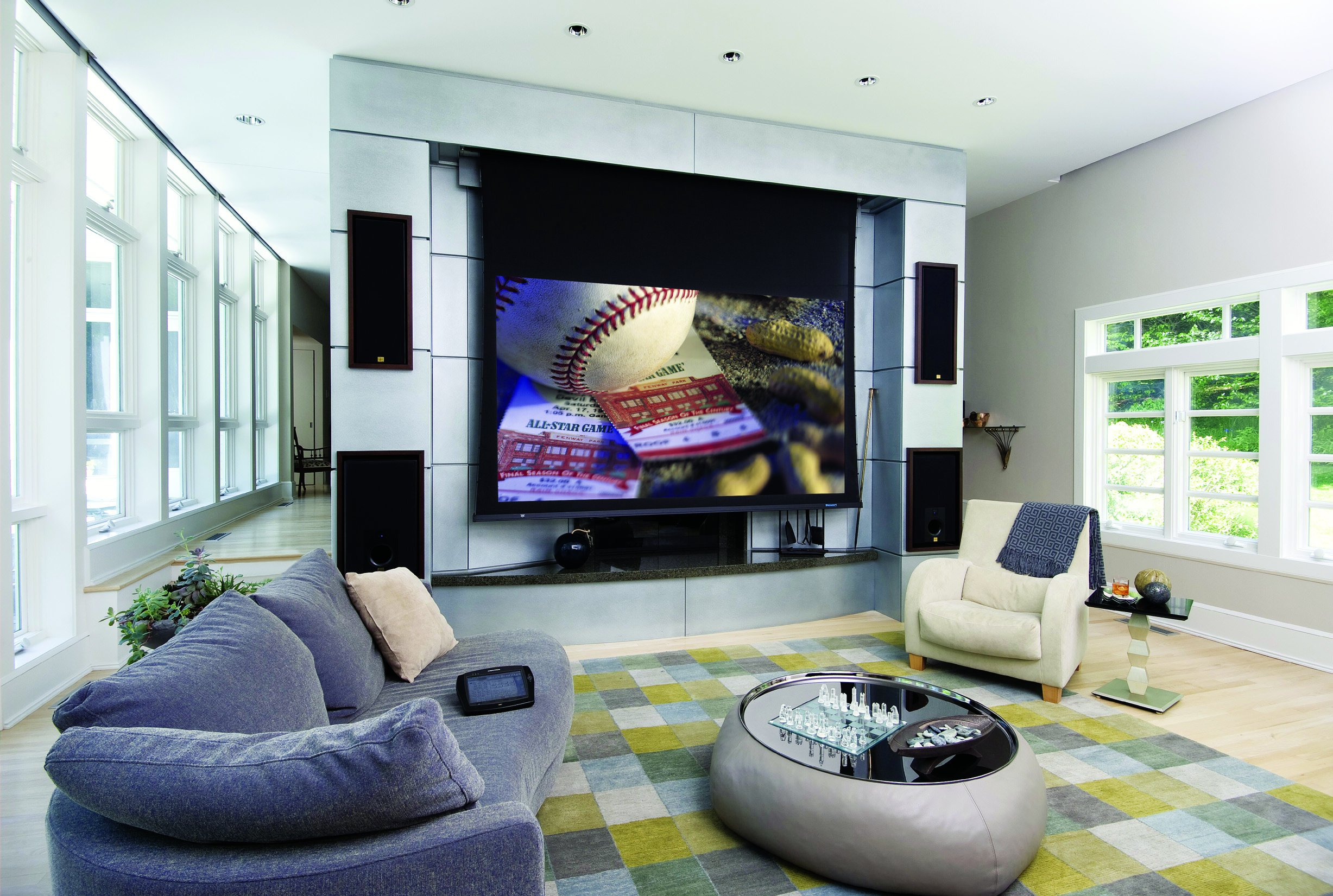 future living room technology awesome ways technology is improving home security 13915