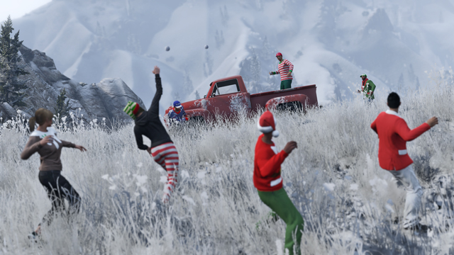 GTA Online christmas dlc