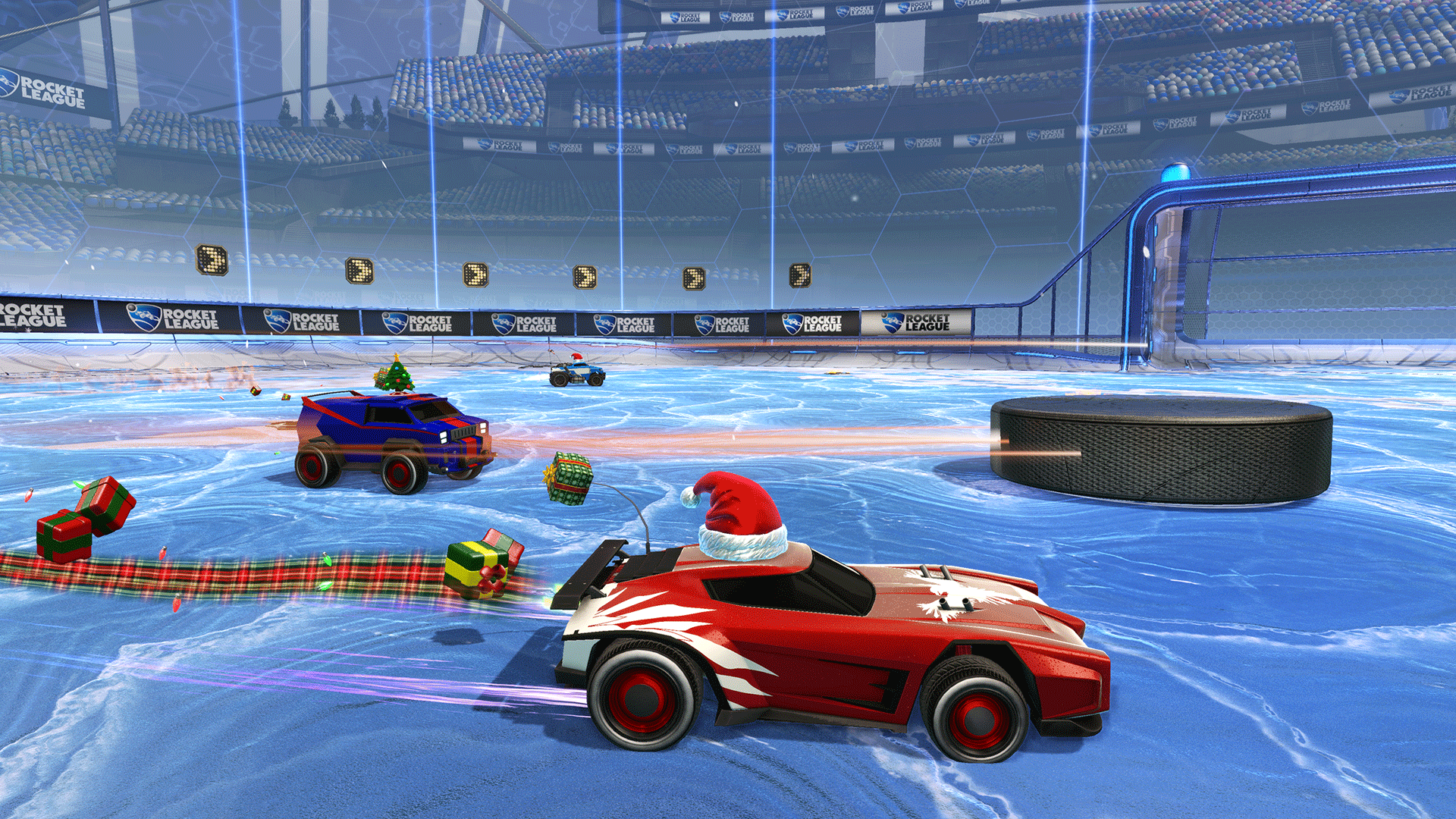 rocket league christmas