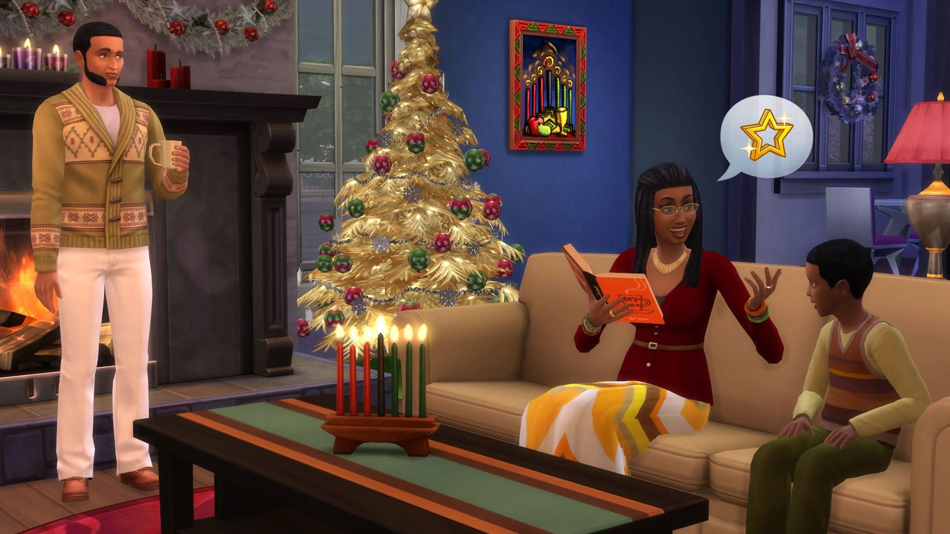 the sims 4 christmas