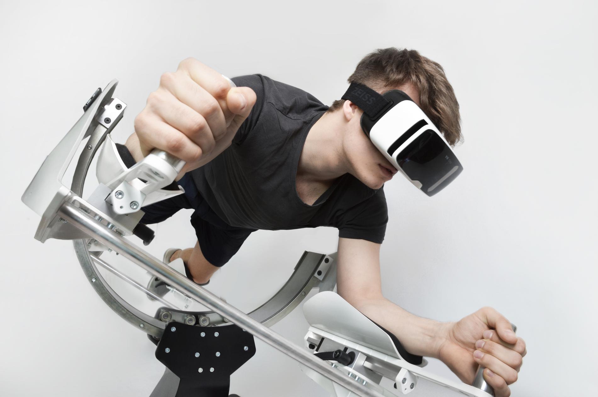 VR exercise icaros