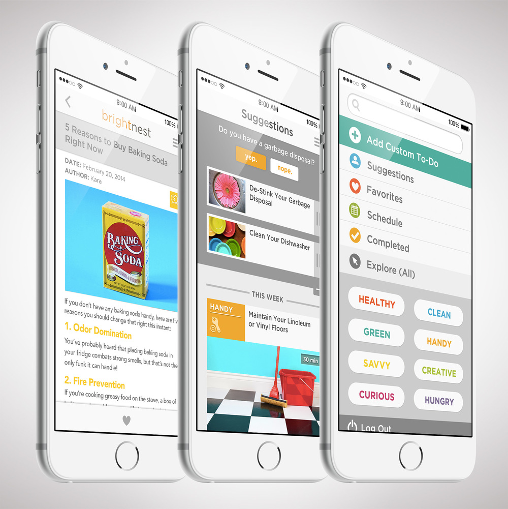 BrightNest app