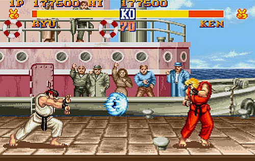 Street Fighter II retro