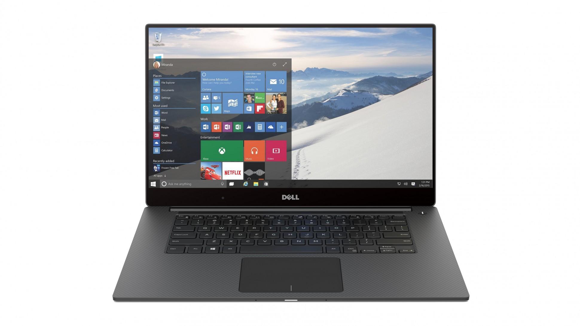 dell xps laptop 2016