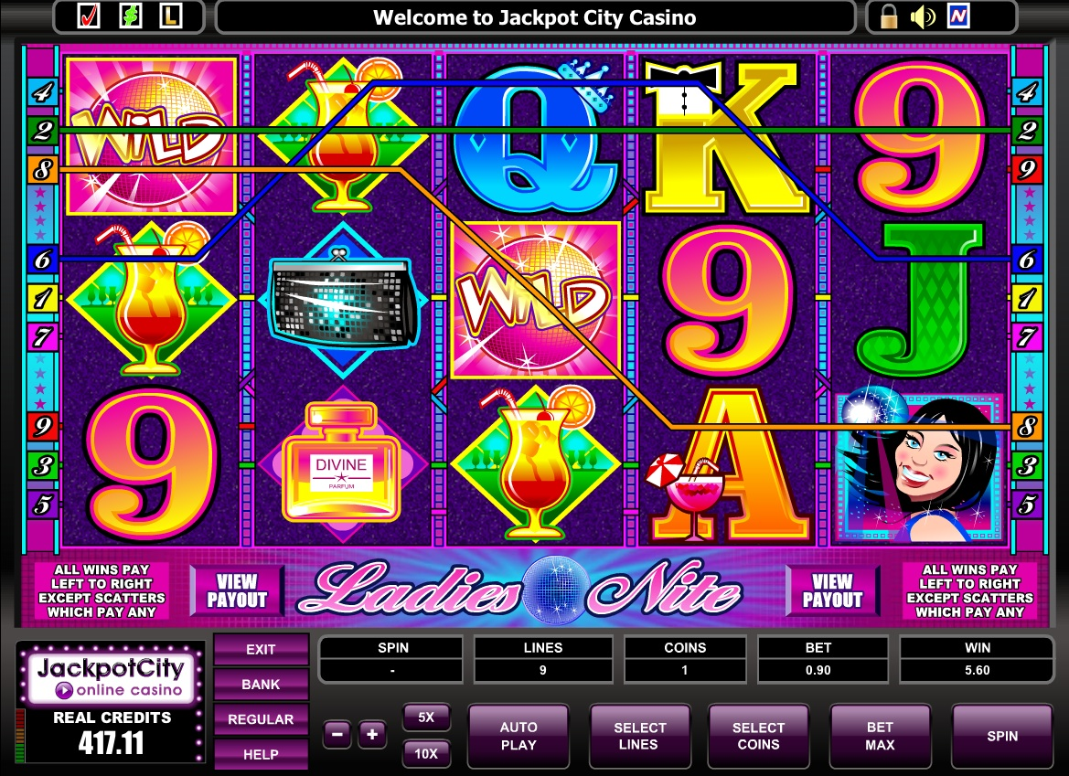 Ladies Nite slots