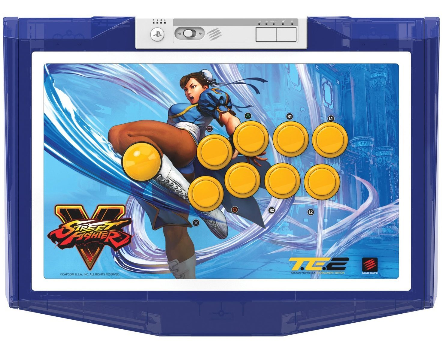 Mad Catz Street Fighter V Chun-Li Arcade Fight Stick Tournament Edition 2